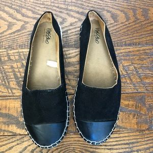 Mossimo Supply Co. Shoes - Black espadrilles with faux suede and faux leather
